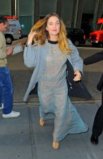 Drew Barrymore Out In NYC