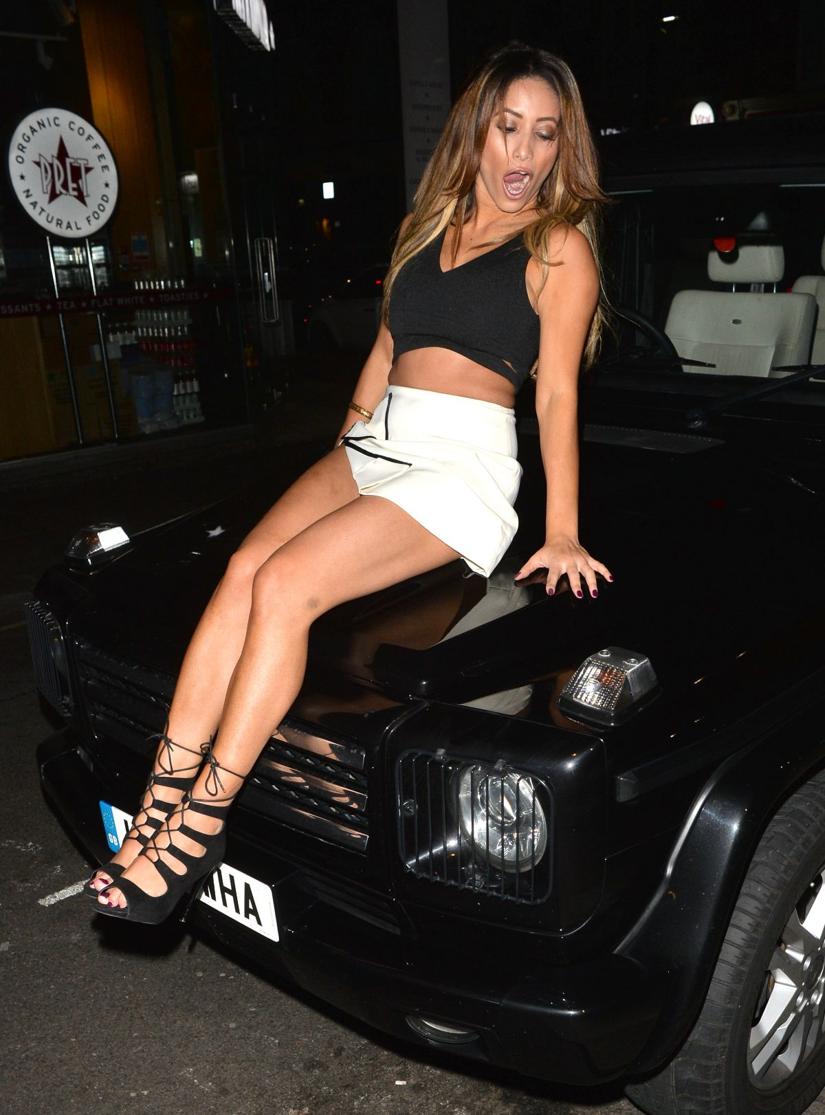 Kayleigh Morris With Melissa Reeves Out & About In London ...