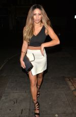 Kayleigh Morris With Melissa Reeves Out & About In London