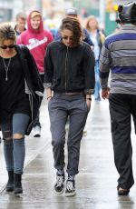 Kristen Stewart Out With Lindsey Byrnes In NYC