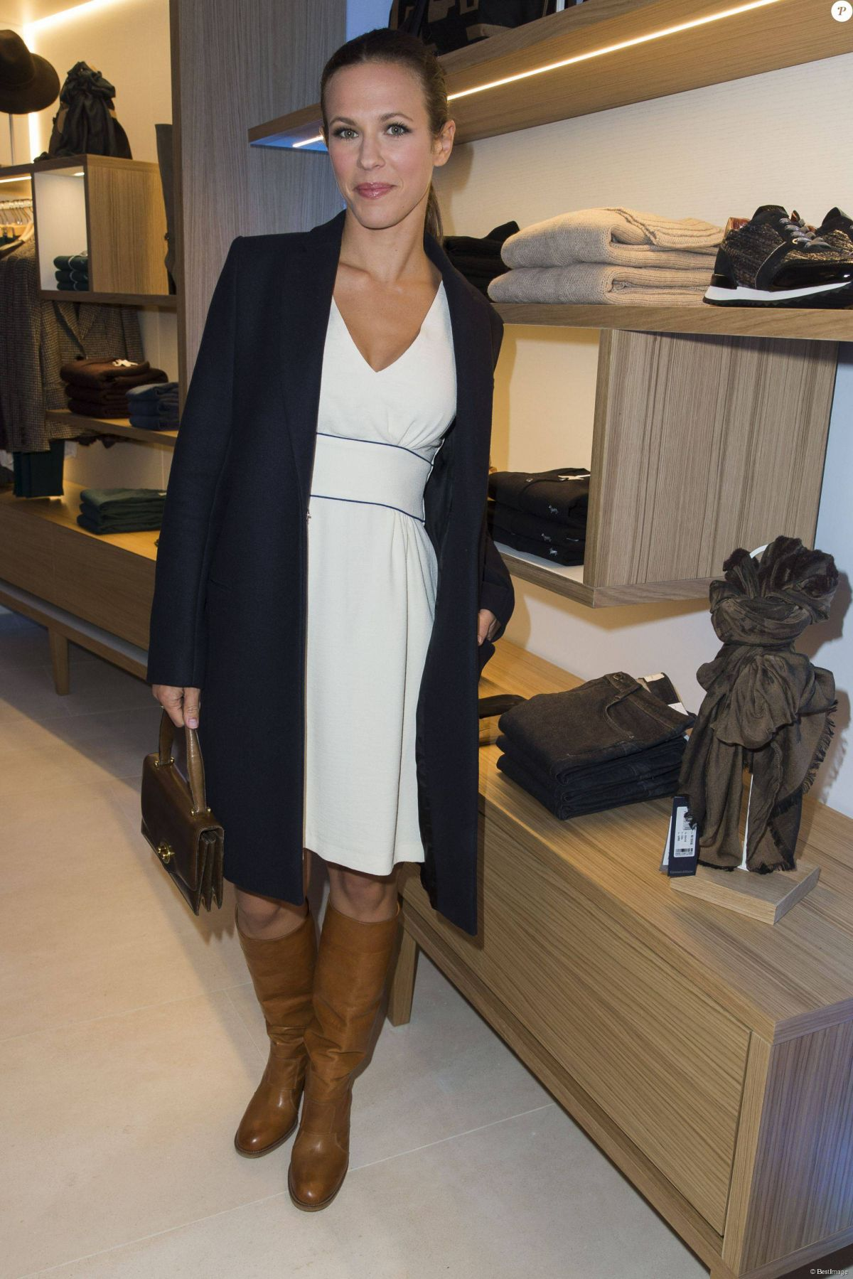 Lorie Pester At Harmont Blaine Store Opening Celebzz