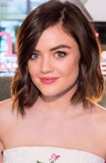 Lucy Hale At Mark. Holiday Collection Event At Crosby Hotel