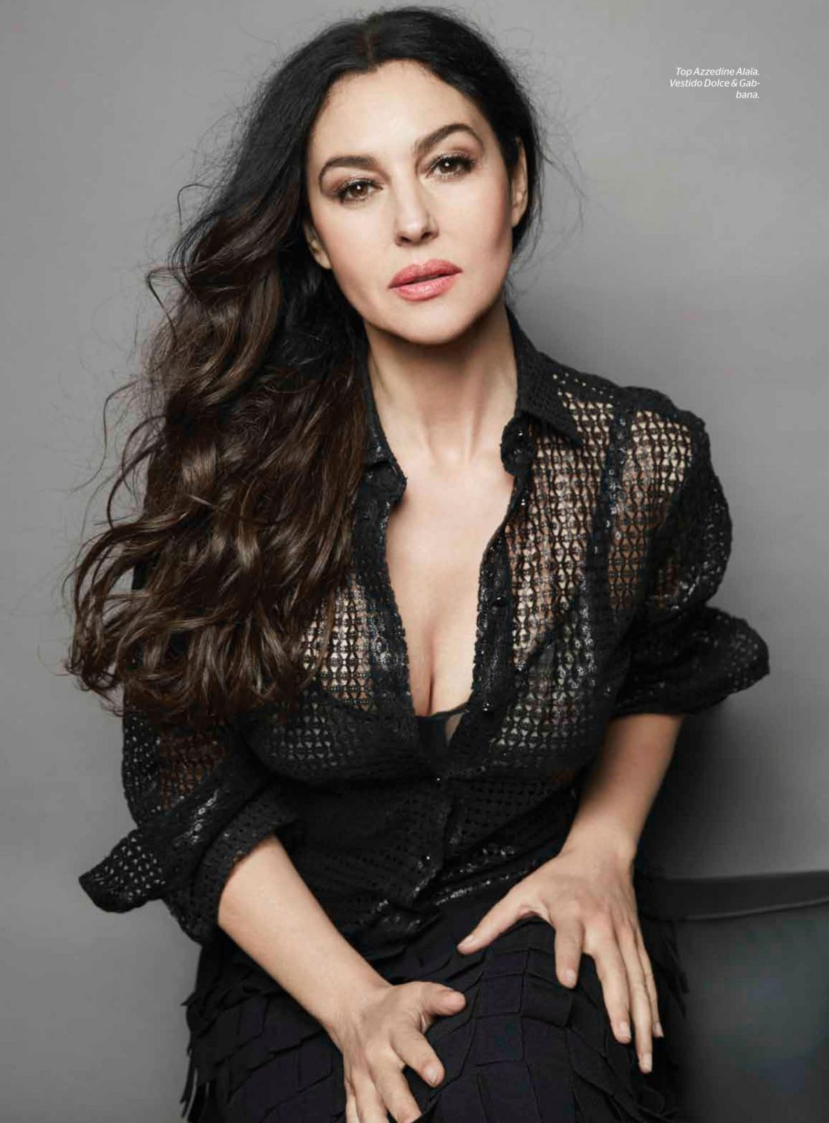 Monica Bellucci In Esquire Mexico October 2015 - Celebzz - Celebzz Monica Bellucci