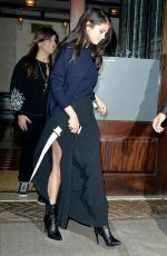 Selena Gomez Arriving At The Greenwich Hotel