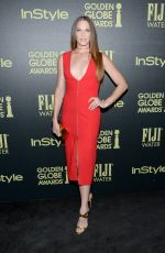 Amanda Righetti At HFPA And InStyle Celebrate The 2016 Golden Globe Award Season
