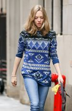 Amanda Seyfried Out With Finn In NYC
