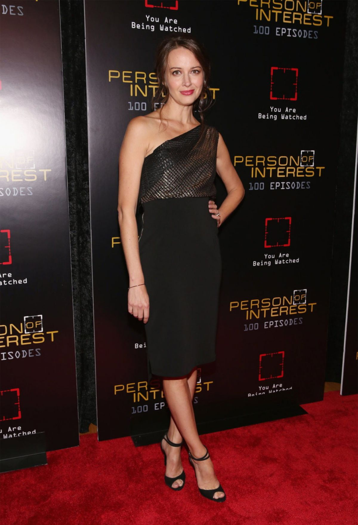 Amy Acker At Person Of Interest 100th Episode Celebration - Celebzz