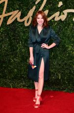 Angela Scanlon At 2015 British Fashion Awards