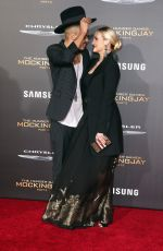 Ashlee Simpson At The Hunger Games Mockingjay Part 2 Premiere In LA