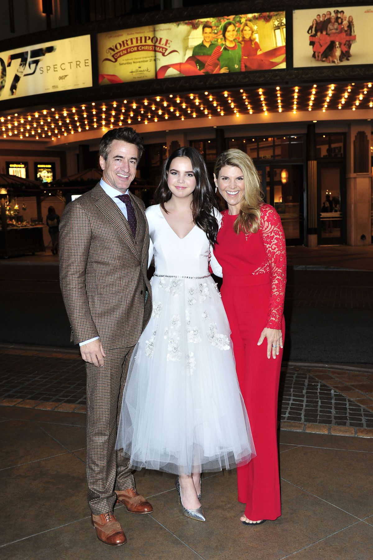 Northpole Open For Christmas.Bailee Madison At Northpole Open For Christmas Screening