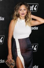 Chrissy Teigen At Fallout 4 Video Game Launch Event