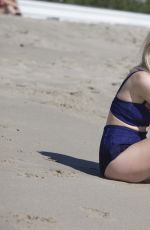 Diana Vickers On The Beach In Santa Monica