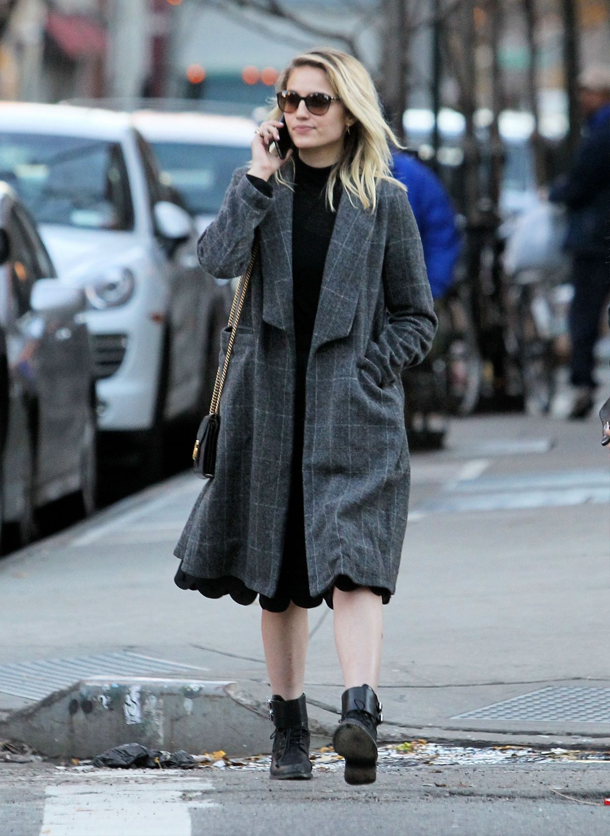 Dianna agron out in new york city naked (22 photo)