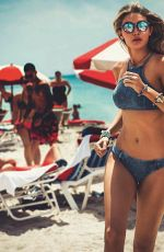 Gigi Hadid In Swimwear For Seafolly Sunglasses