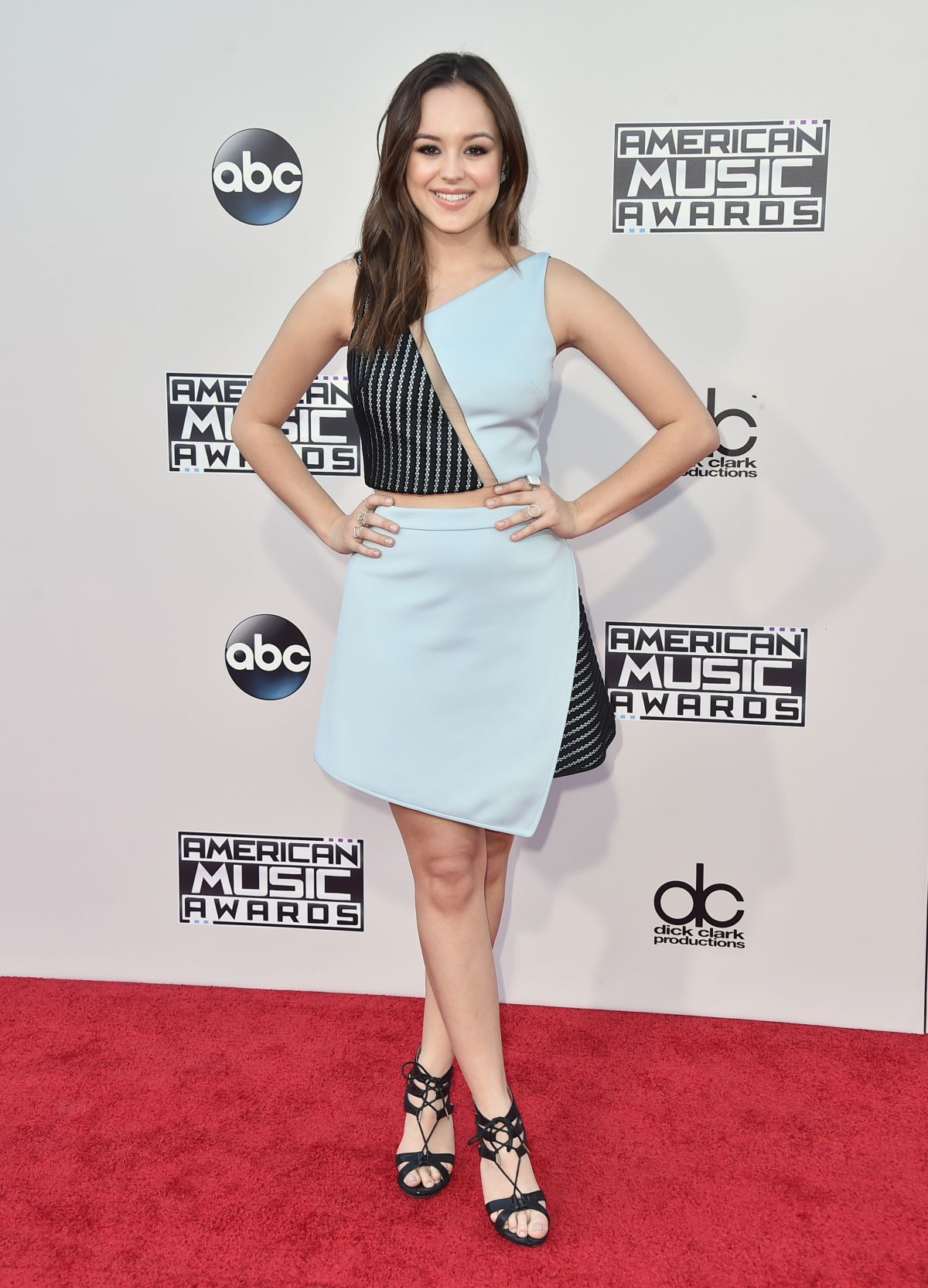 Hayley Orrantia At 43rd American Music Awards 2015