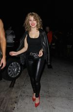Hayley Orrantia At Just Jared Halloween Party