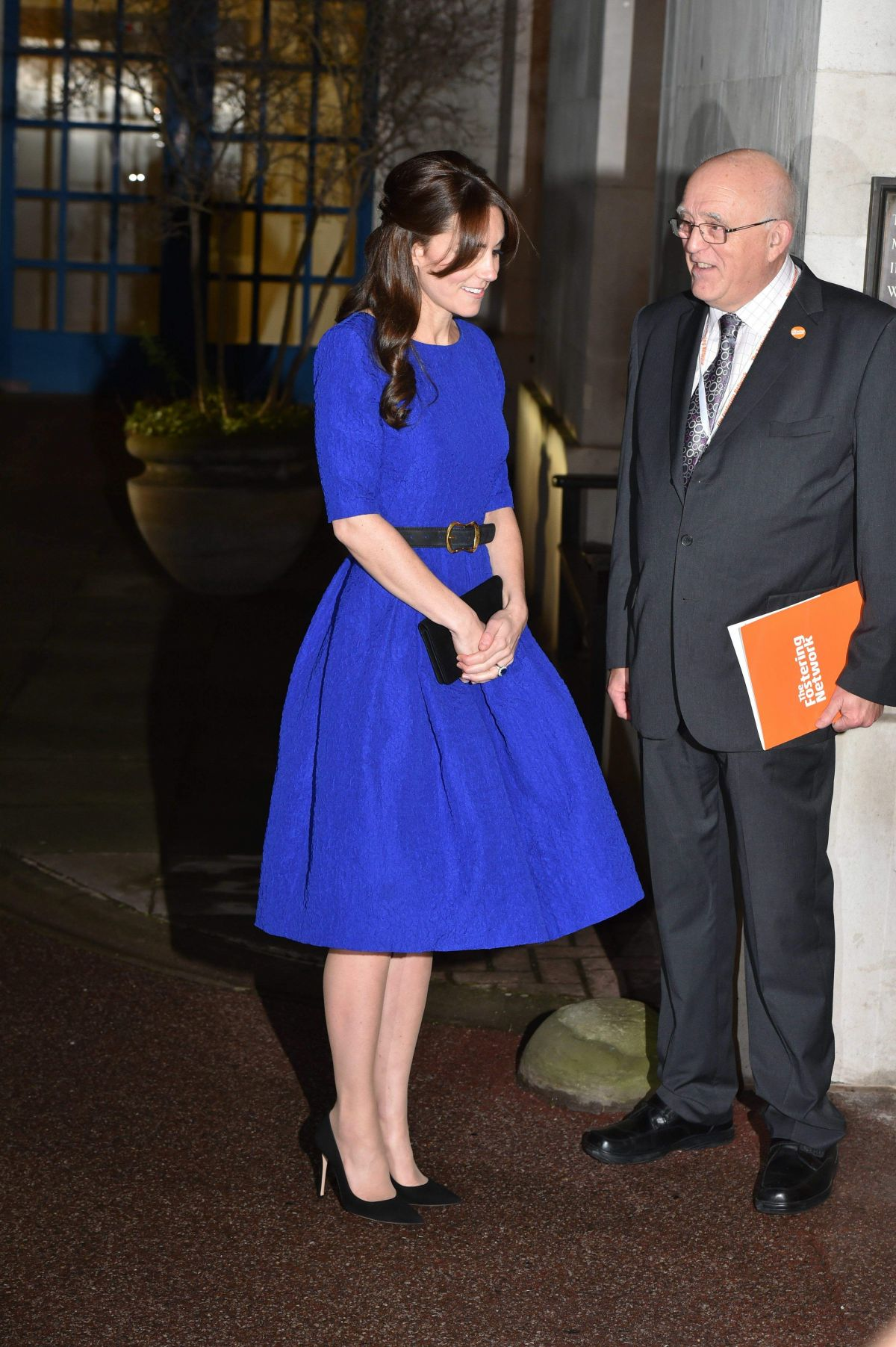 Kate Middleton Arrives At The Fostering Awards At Bma