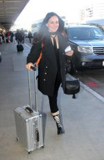 Madeleine Stowe Catches A Flight Out Of Los Angeles