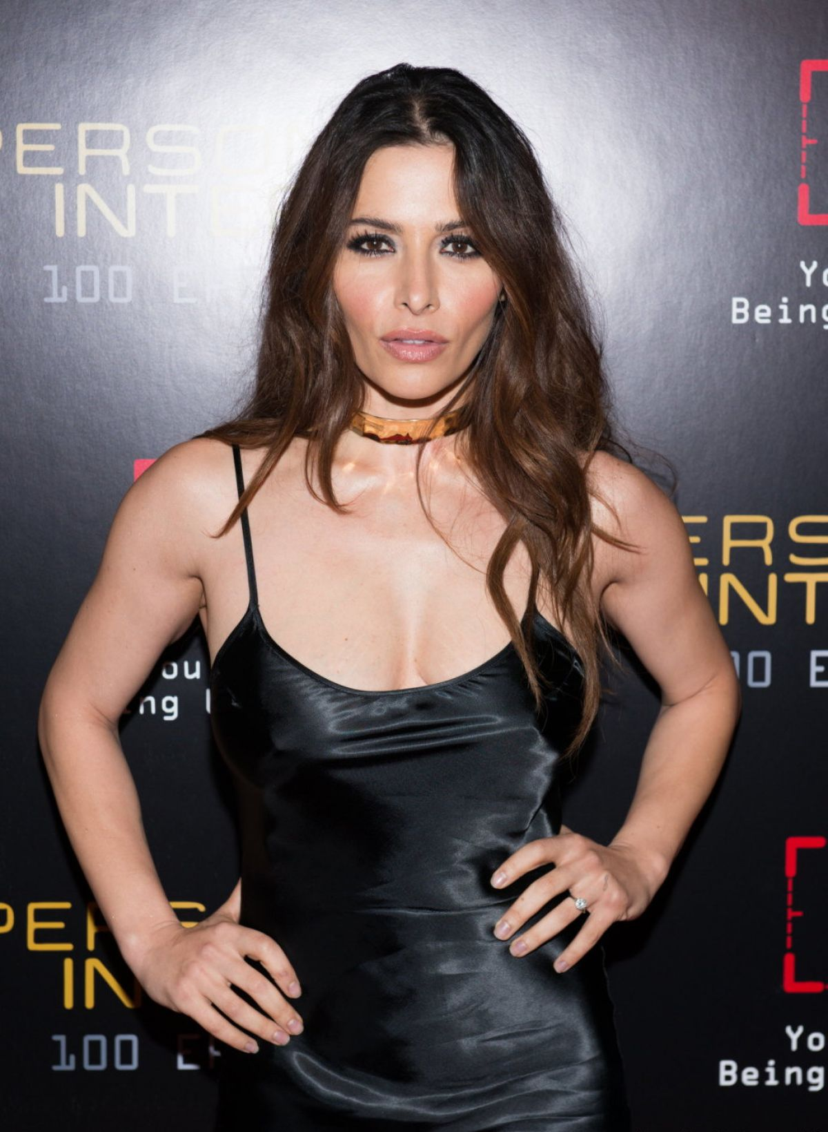 Sarah Shahi At Person Of Interest 100th Episode ... Britney Spears Vegas Vip