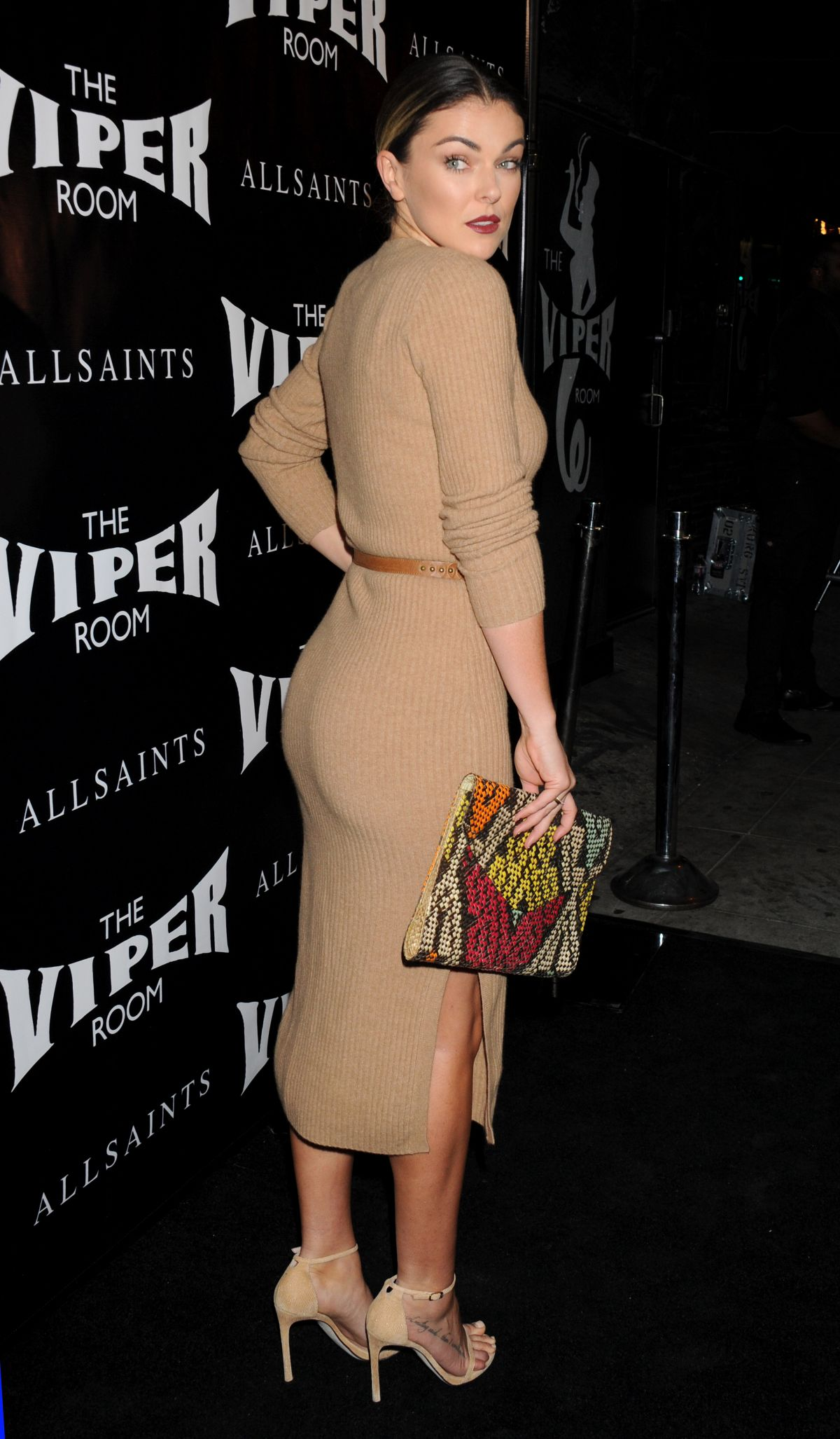 Serinda Swan At The Official Viper Room Re-Launch Party ...