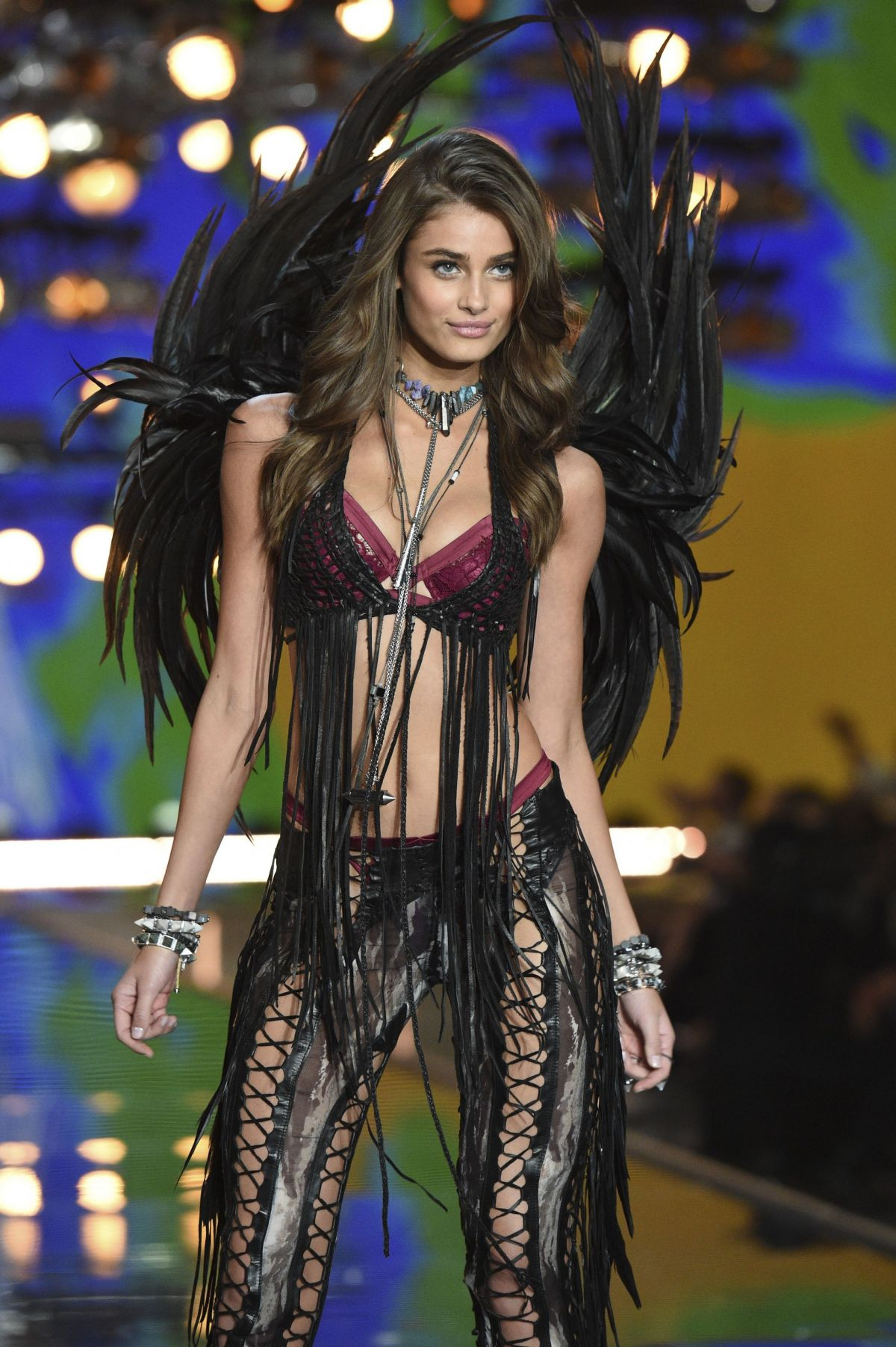 Taylor Marie Hill At Vs Fashion Show 2015 Celebzz