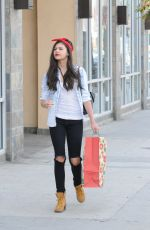 Amber Montana Shopping In Studio City