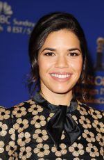America Ferrera At 73rd Annual Golden Globe Nominations
