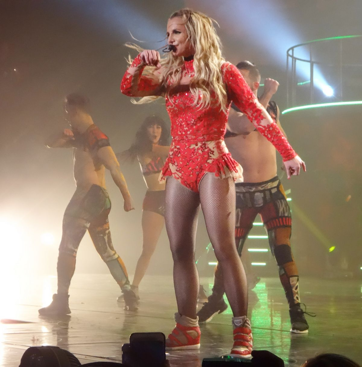 Britney Spears Performing At Planet Hollywood Resort & Casino In Las ...