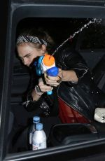 Cara Delevingne Out For Lunch At Trendy J Sheeky Restaurant In London