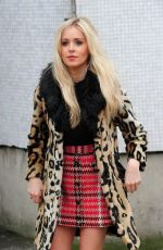 Diana Vickers Arriving At Lorraine TV Show In London
