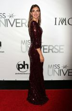 Erin Brady Attends The 2015 Miss Universe Pageant In Las Vegas