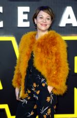 Helen McCrory At Star Wars: The Force Awakens Premiere In London