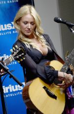 Jewel Kilcher At SiriusXM Acoustic Christmas With Jewel And Shawn Mullins