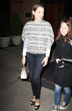 Marion Cotillard Out In New York City