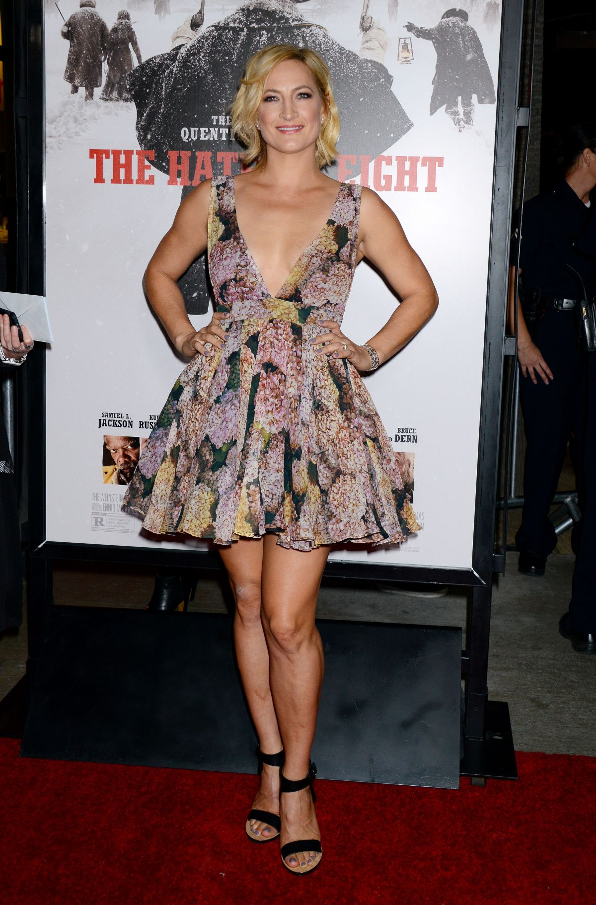 Zoe Bell At Premiere Of 'The Hateful Eight' In Los Angeles ...
