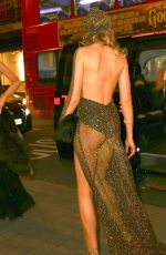 Abbey Clancy At Her 30th Birthday Celebration In London