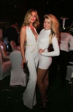 Abbey Clancy At New Year's Party In Dubai