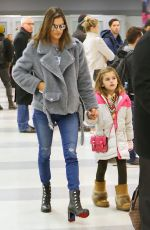 Alessandra Ambrosio At JFK