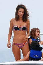 Alessandra Ambrosio On A Yacht In The Resort Of Florianopolis