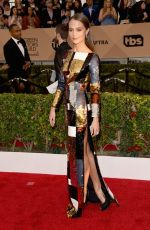 Alicia Vikander At 22nd Annual Screen Actors Guild Awards In Los Angeles