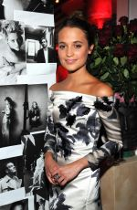 Alicia Vikander At W Magazine Celebration Of The