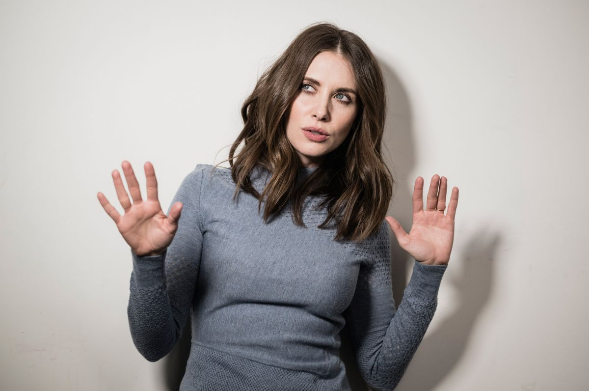 Alison Brie At Indiewire Portraits At 2016 Sundance Film Fetival