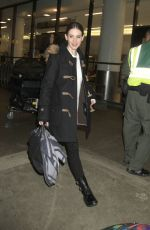 Alison Brie At LAX
