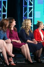 Alison Brie At TV LAND - Teachers Panel 2016 Winter TCA Tour In Pasadena