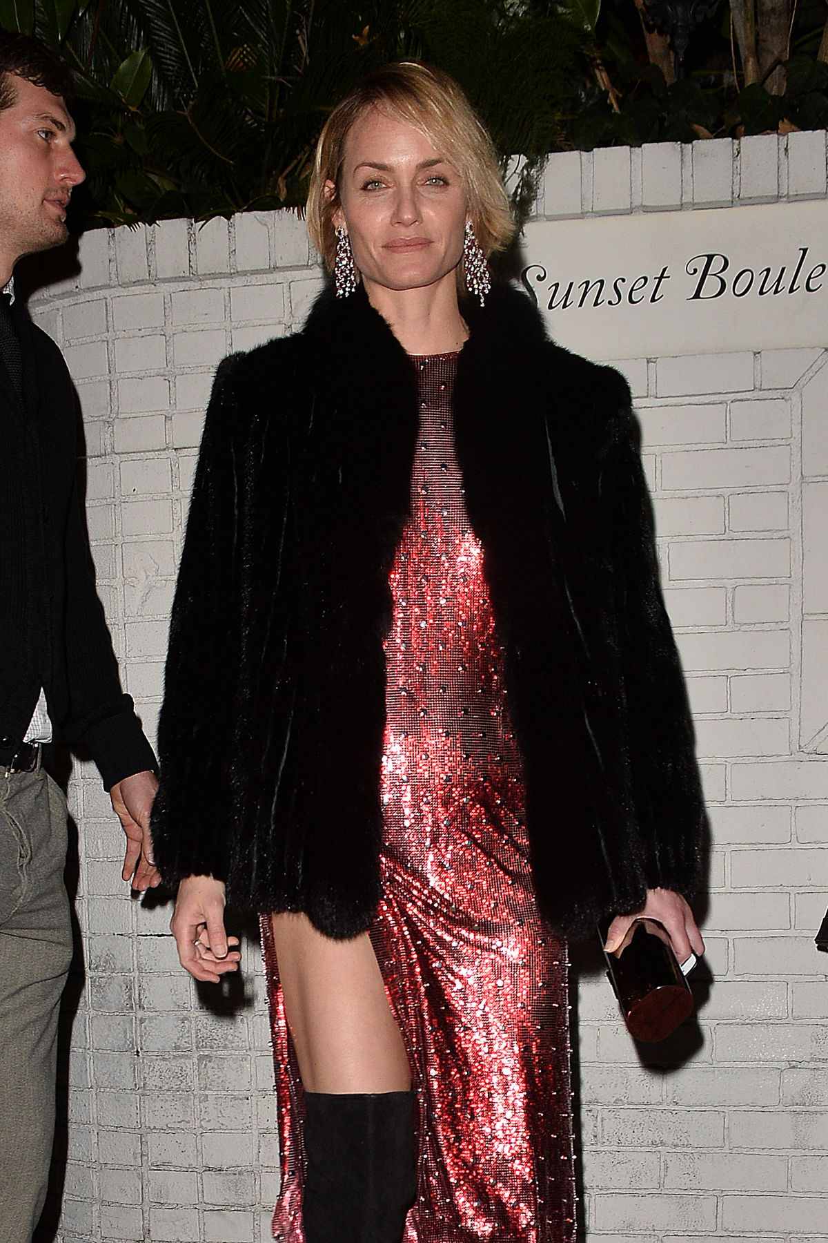 Amber Valletta At The W Magazine Golden Globe Party