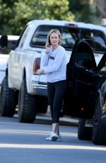Amber Valletta Out In Brentwood