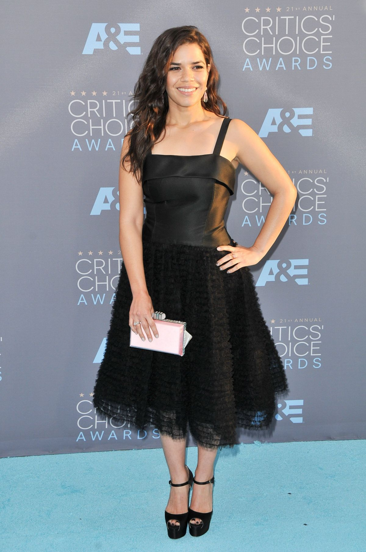 America Ferrera At 21st Annual Critics