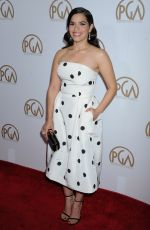 America Ferrera At 27th annual Producers Guild Awards In Los Angeles