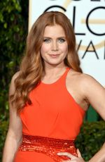 Amy Adams At 73rd Annual Golden Globe Awards In Beverly Hills