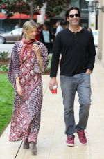 Amy Smart Out In Beverly Hills